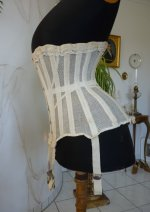 26 antique summer corset 1890