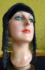 23 antique flapper headpice 1920