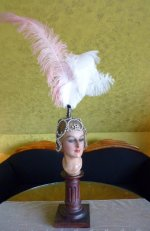 33 antique headpiece 1920
