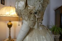 18 antique ball gown 1900