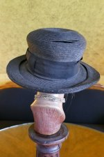 8 antique straw hat 1910