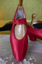 11 antique evening shoes 1880