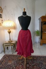 2 antique petticoat 1900