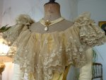 17 antique ball gown 1895
