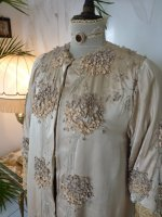 3 antique silk coat 1906