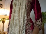 9 antique dress gown
