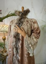 3 antique opera coat