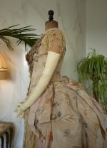 19 antique Ball gown 1880