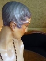31 antique wax mannequin 1920