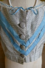 3 antique bodice 1850