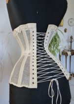 21 antique summer corset 1890