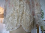 3 antique bed jacket