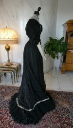 26 antique evening gown 1896