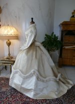 15 antique wedding dress 1876