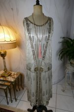 2 antique flapper evening dress 1920