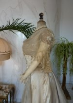 25 antique evening dress WORTH 1898