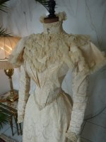 7 antique wedding gown 1895