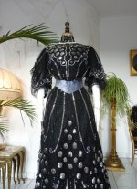 19 antique ball gown 1904
