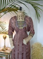 4 antique gown