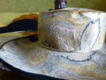 107 antique lampshade hat 1912