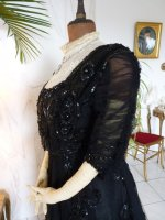 19 antique ball gown