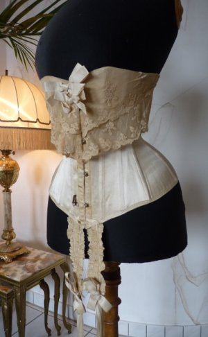 antique victorian corset 1895