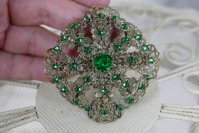 2 antique brooch 1920