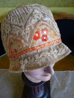 14 antique cloche hat 1927