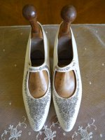 2 antique wedding shoes 1908