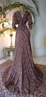 38 antique art nouveau dress