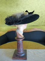 17 antique lampshade hat 1912