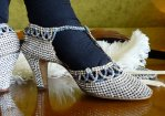 20 antique rhinestone shoes 1920