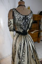 30 antique ball gown 1900