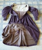 100 antique romantic period gown 1837