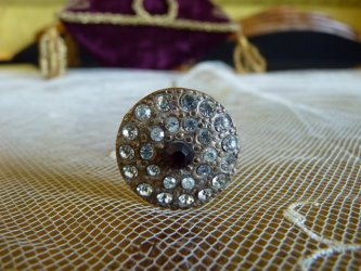antique hat pin 1900