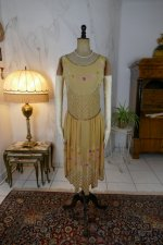 2 antique flapper dress 1926