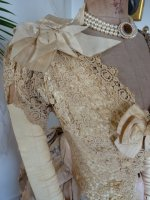 11b antique Ball gown 1880