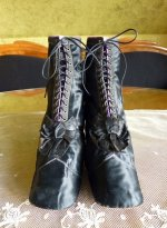2 antique lace up boots 1867