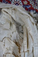 44 antique ALTMANN Battenburg lace dress 1904