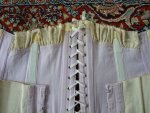 24 antique underbust korsett