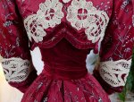 34 antique society dress 1904