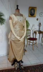 8 antique evening Dress 1919