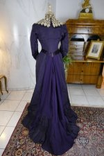 19 antique Madame Percy Visiting gown 1898