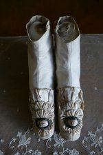 2 antique wedding boots 1855