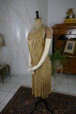 18 antique beaded flapper evening dress 1922