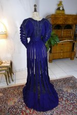 24 antique afternoon dress 1906