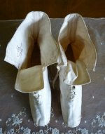 20 antique wedding boots 1875