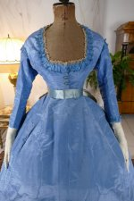 22 antique ball gown 1864
