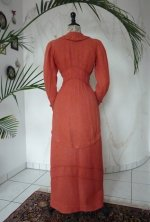 5 antique walking dress