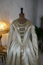 3 antique wedding dress 1845